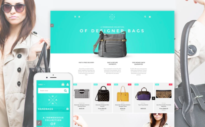 Handbag Boutique Shopify Theme