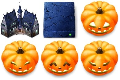 Haunted Hotel Icons