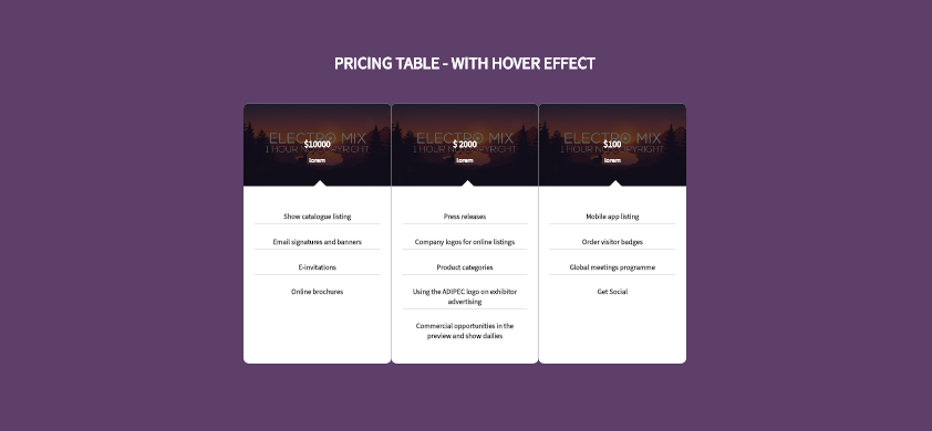 Hover Effect