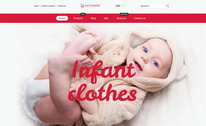 Infant Clothing Store Shopify Theme