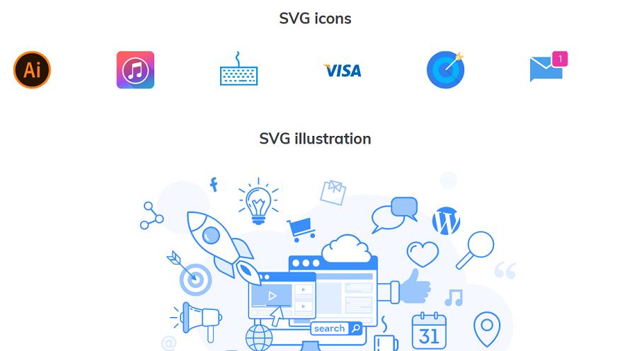 Inline SVG