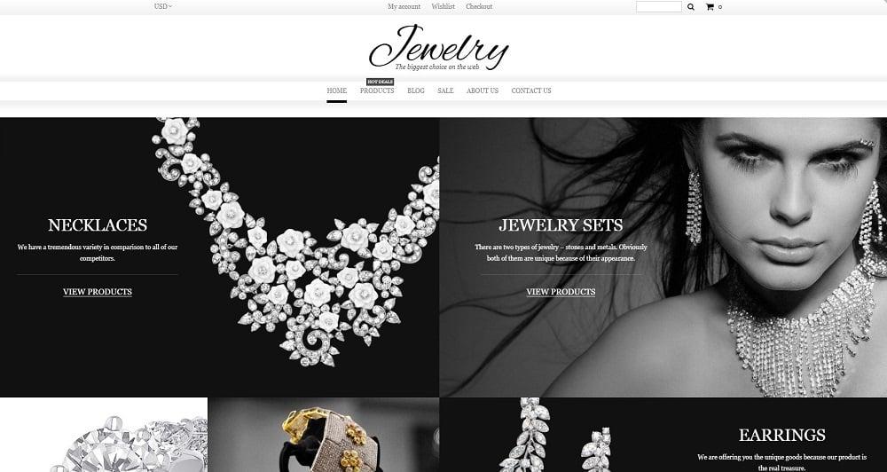 Jewelry Shopify Theme