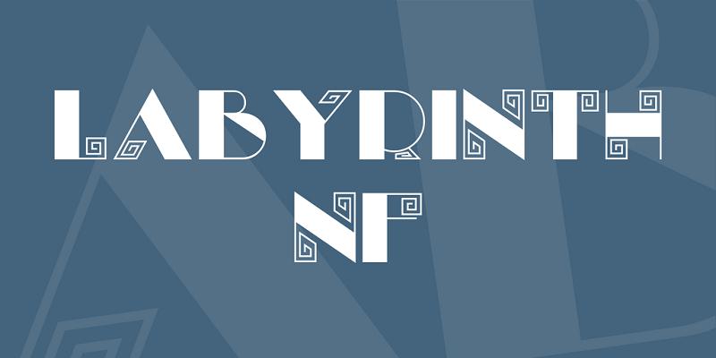 Labyrinth NF Font