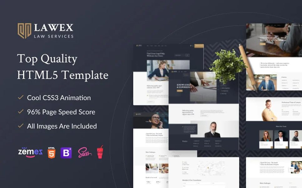 lawex-law-company-website-template