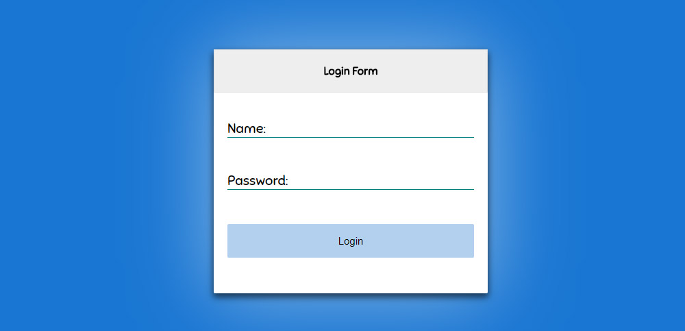 Material Input Form