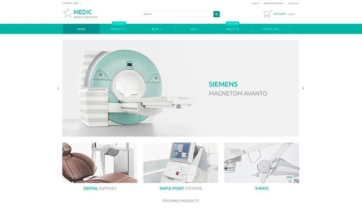 Medical Equipment Responsive Shopify Theme