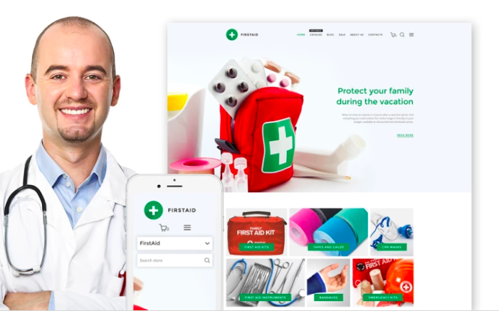 FirstAid - Medical & Healthcare Shopify Theme