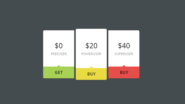 Mini Pricing Table