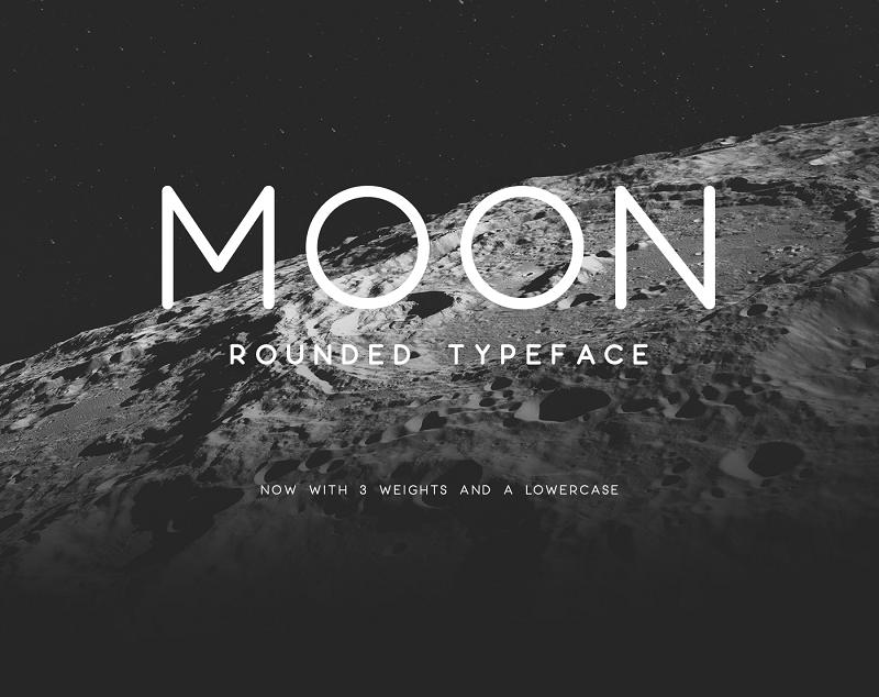 moon typeface
