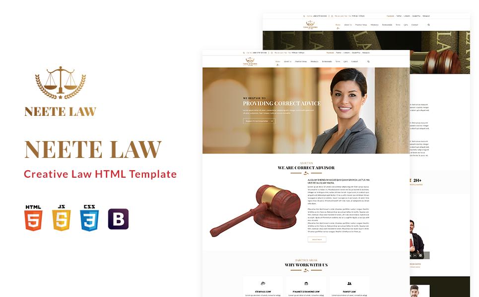 neete-law-responsive-html-website-template