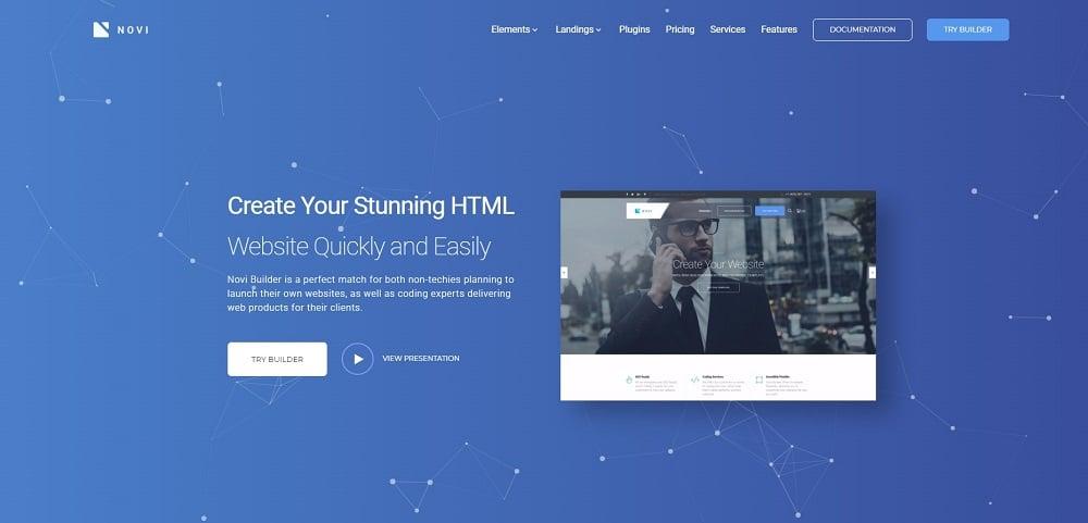 Novi - Corporate & Business Multipurpose with HTML Builder