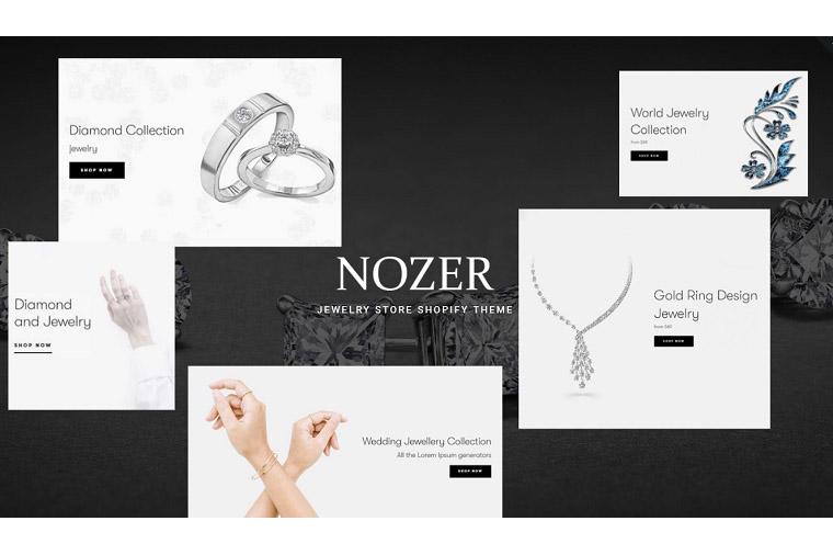 Nozer - Jewelry Store Shopify Theme
