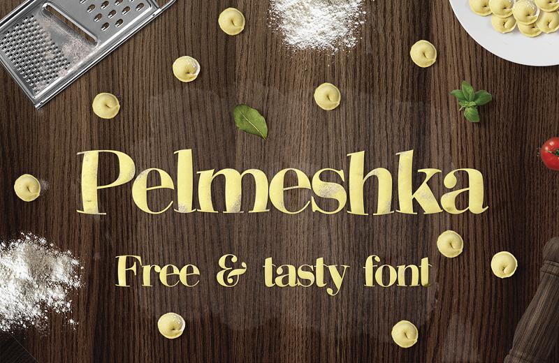 Pelmeshka - Free Font