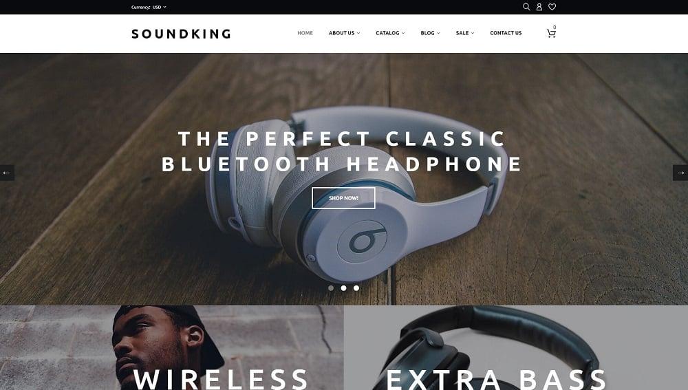 Soundking - Electronics Online Shopify Theme