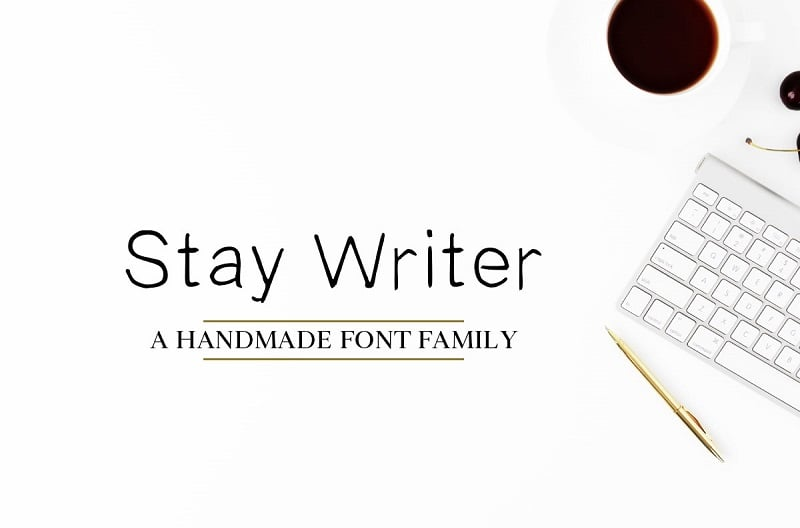 Stay Writer Free Handwriting Font Download