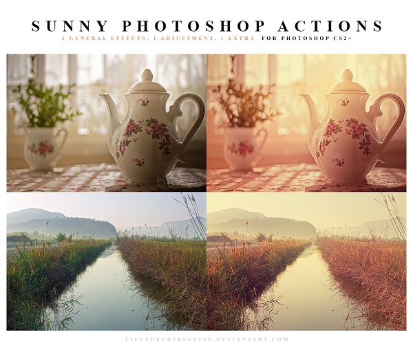 Sunny Photoshop Actions