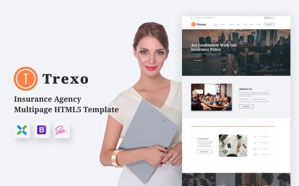 trexo-insurance-agency-html5-website-template