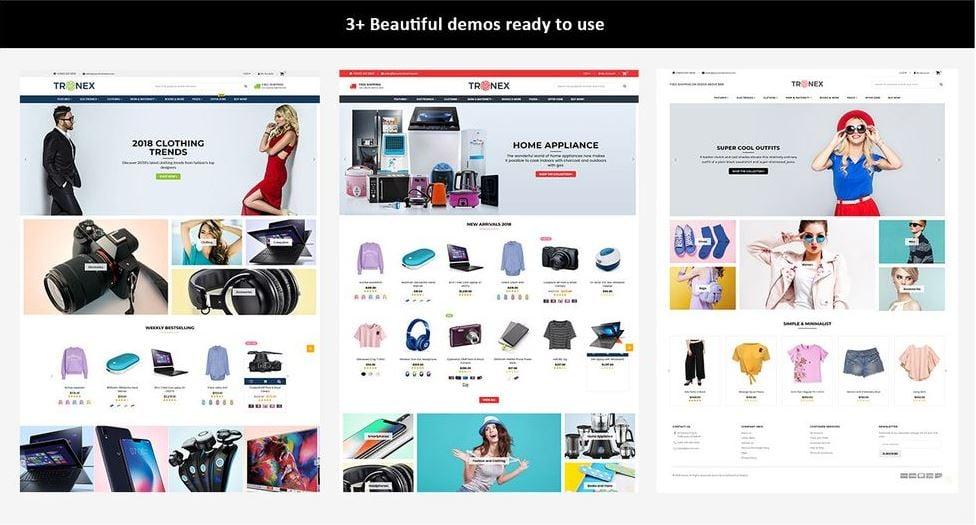 Tronex Multipurpose Shopify Theme