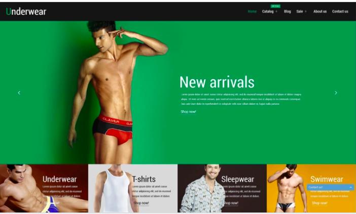 Underwear Fashion Shopify Theme