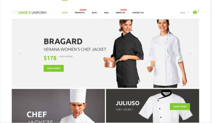Uniform Store Responsive Shopify Theme