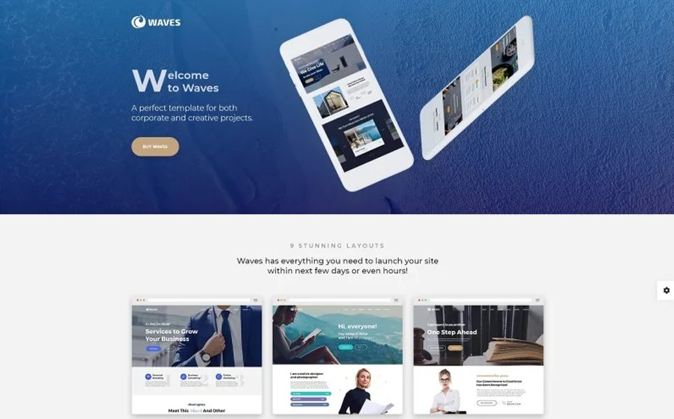 waves-9-in-1-business-one-page-website-template