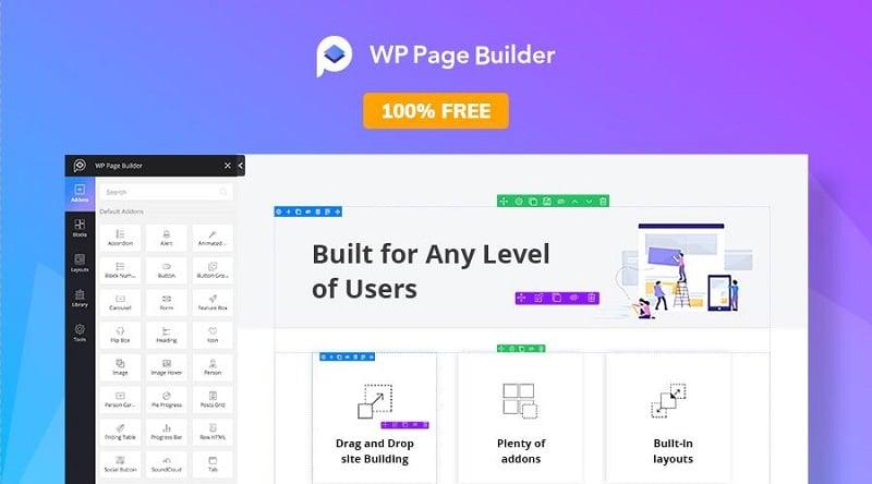 wp pagebuilder