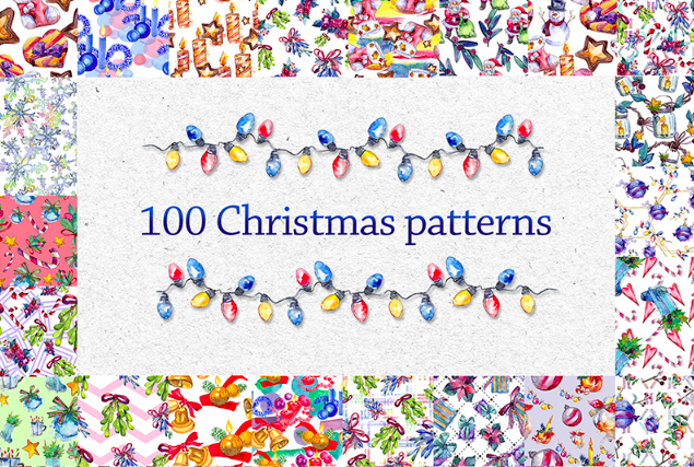 100 Patterns Of Christmas