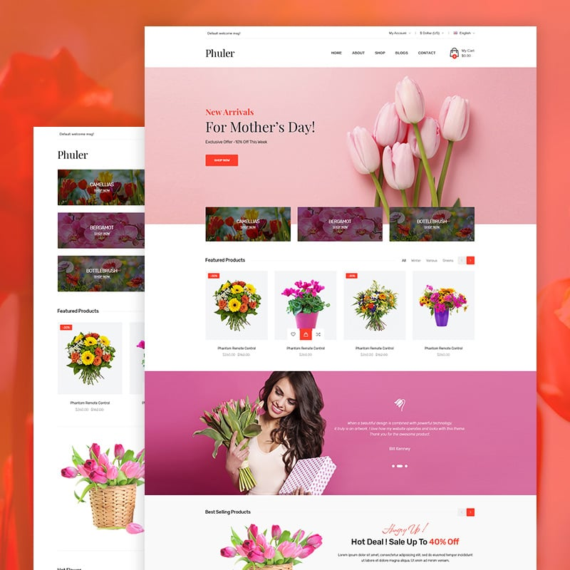 Flower Shop Shopify Theme
