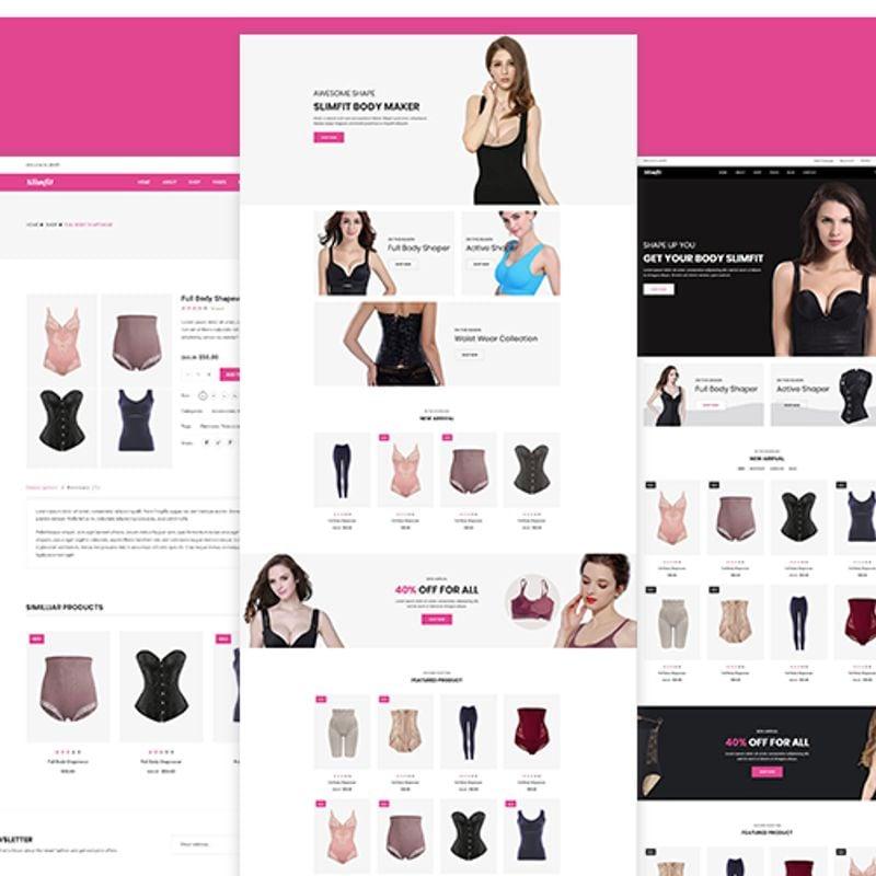 Shapewear eCommerce Shopify Theme