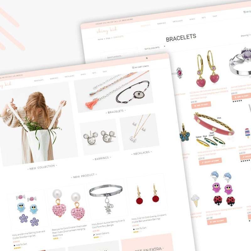 Jewelry Elementor WooCommerce Theme