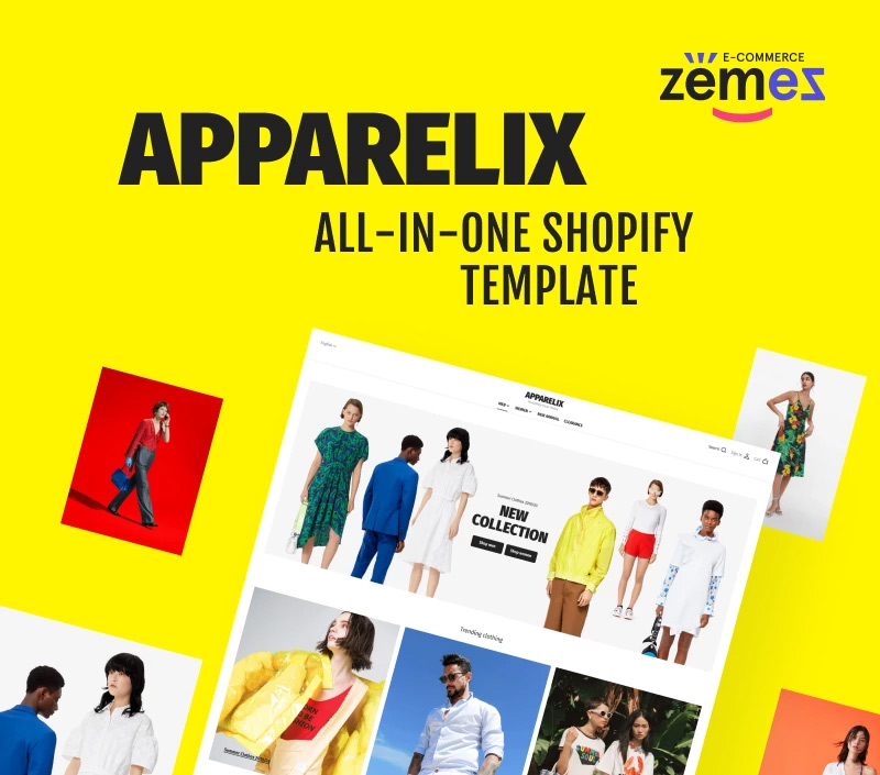Apparelix - Clean Multipurpose Shopify Theme