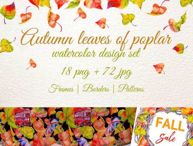 Autumn Leaves of Poplar