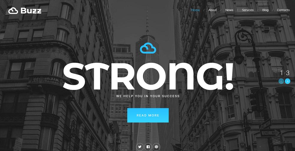 Bank Responsive Website Template