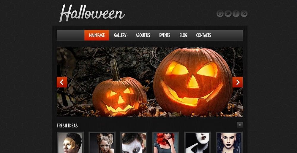 Halloween Atmosphere WordPress Theme