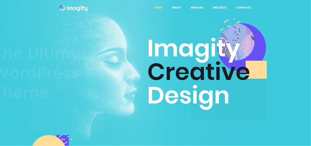 Imagity - Creative Minimal Elementor WordPress Theme