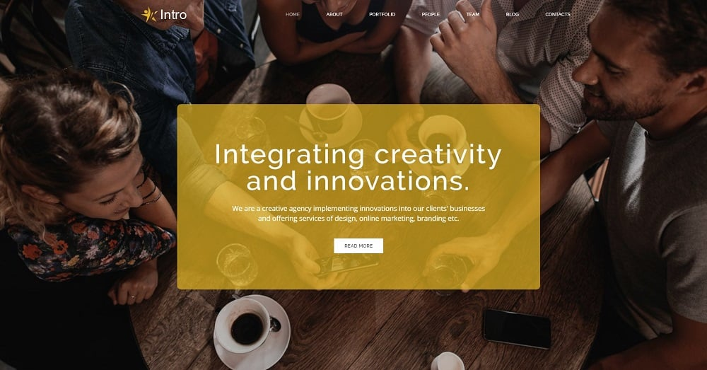 Intro - Dynamite Digital Agency HTML5 Landing Page Template