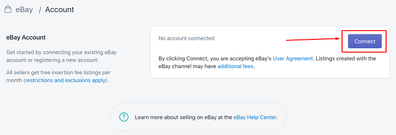 How To Connect To Ebay Shopify Step By Step Tutorial