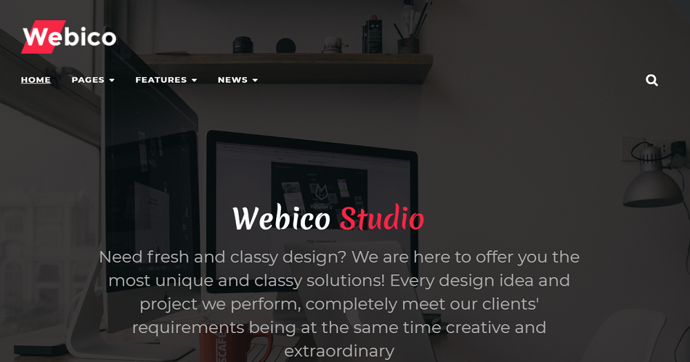 Webico - Web Design Elementor WordPress Theme