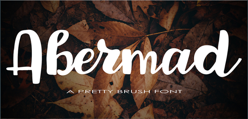 Abermad Trendy fonts