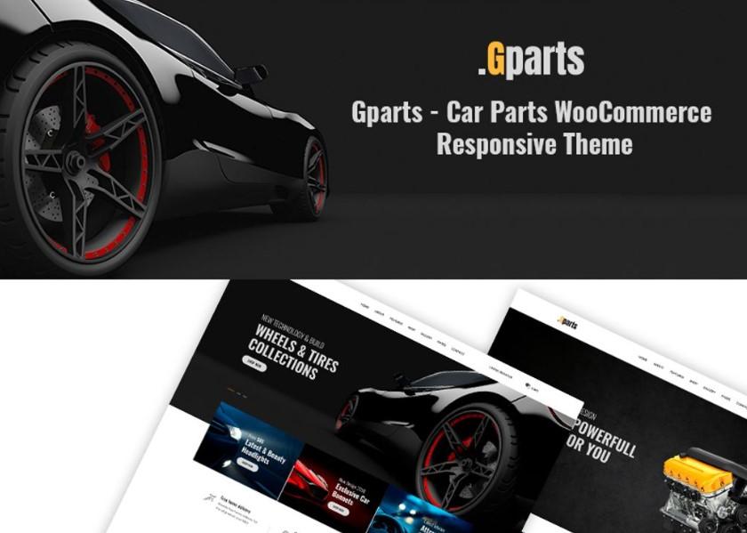 Gparts - Car Parts Responsive WooCommerce Theme.