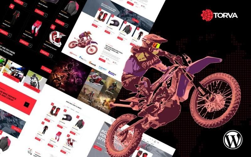 Trova Sports Motor Bike Shop WooCommerce Theme.