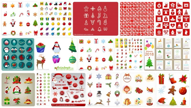 Christmas Illustrations by All Free Download
