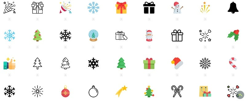 Christmas Icons by Flat Icon