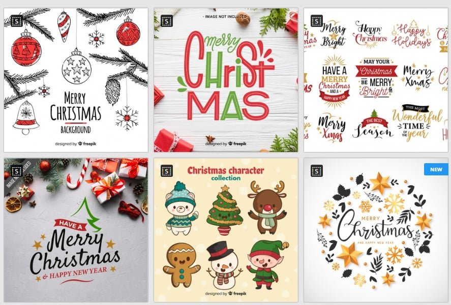 Christmas Illustrations by Freepik
