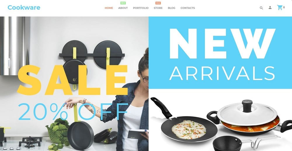 Cookware WooCommerce Theme