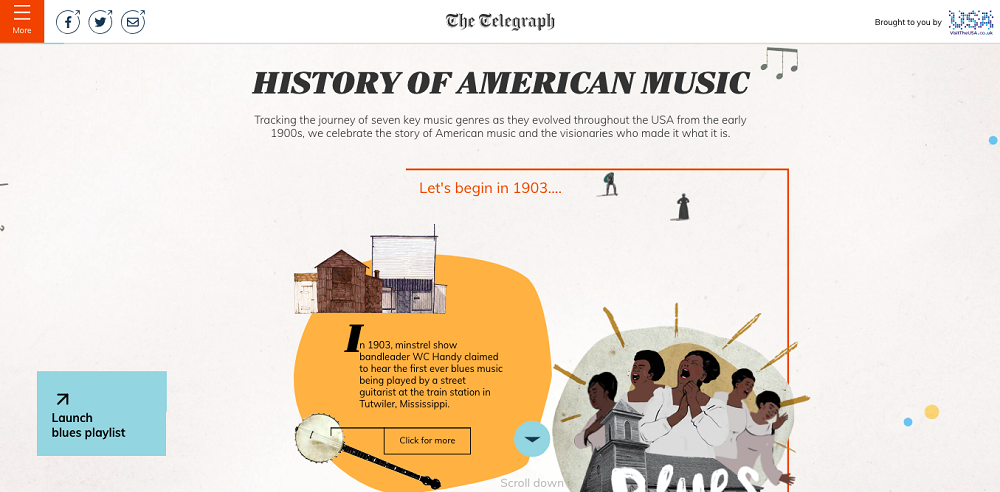 HISTORY OF AMERICAN MUSIC