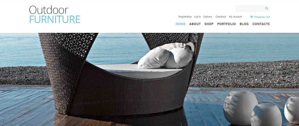 Outdoor Furniture WooCommerce Theme