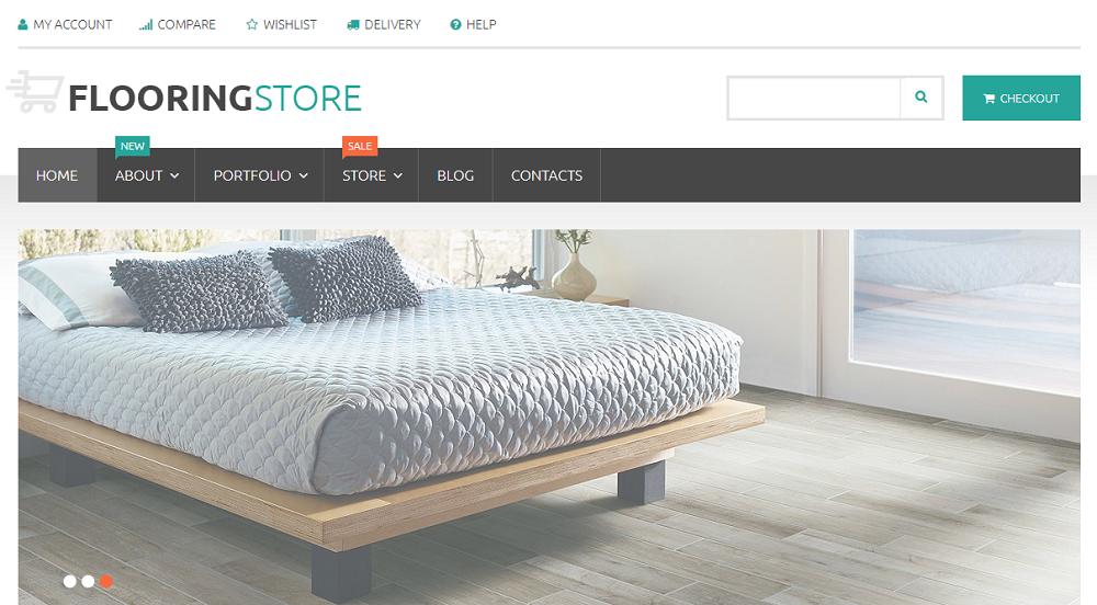 Parquet Online Store WooCommerce Theme