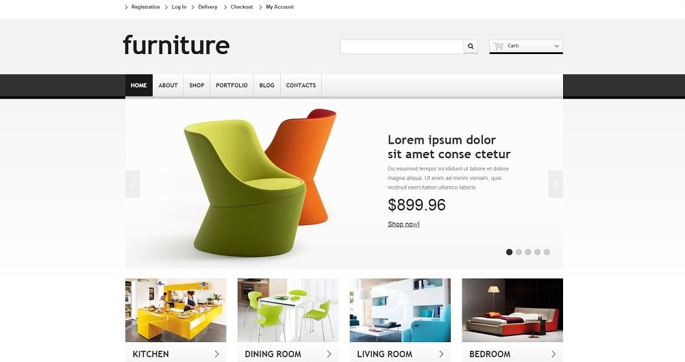 Responsive Furniture Store WooCommerce Theme