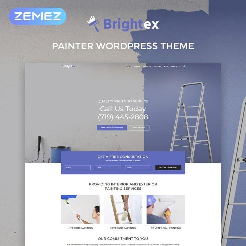 Painting Services Multipurpose Classic Elementor WordPress Theme